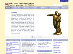 North Country Underground Railroad Historical Association